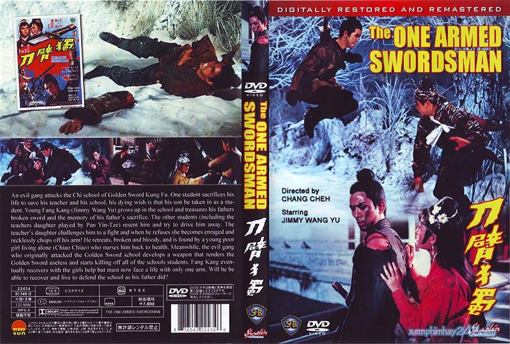 http://xemphimhay247.com - Xem phim hay 247 - Độc Thủ Đại Hiệp: Độc Tí Đao (1967) - The One-armed Swordsman (1967)