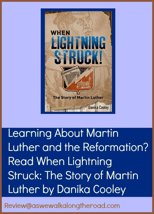 Review of When Lightning Struck, a young adult book about the life of Martin Luther
