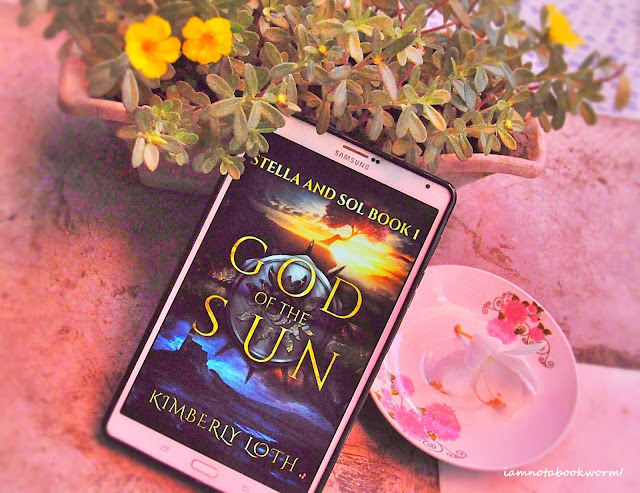 God of the Sun (Stella and Sol #1) by Kimberly Loth | ARC | A Book Review by iamnotabookworm