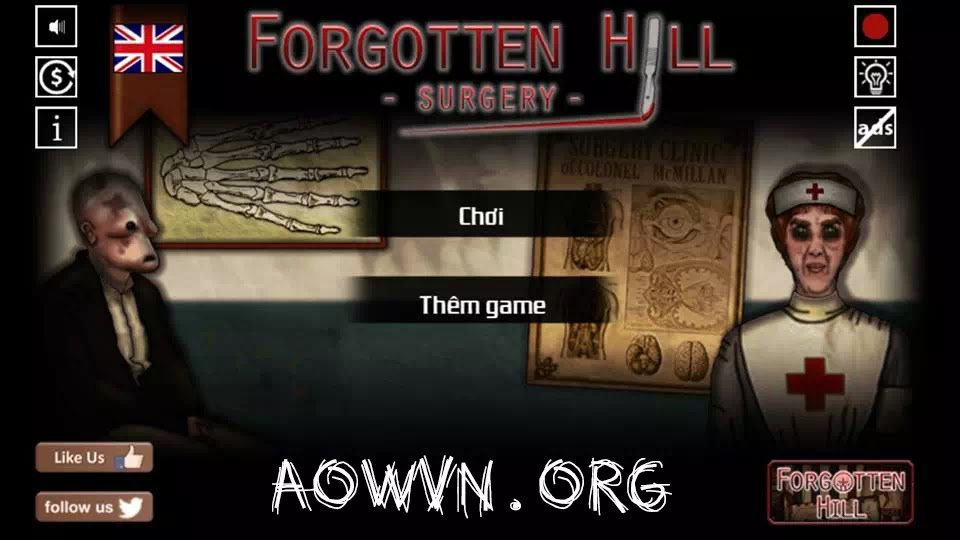 game android Forgotten%2BHill Fall Sugery Mementoes viet hoa aowvn kinh di giai do%2B%25284%2529 - [ HOT ] Game Forgotten Hill - Mementoes - Fall - Surgery Việt Hóa | Android - Kinh dị giải đố tuyệt hay
