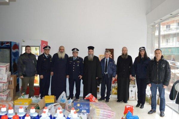 Προσφορά αγαθών και χρημάτων σε φιλανθρωπικά ιδρύματα από αστυνομικούς της Κεντρικής Μακεδονίας