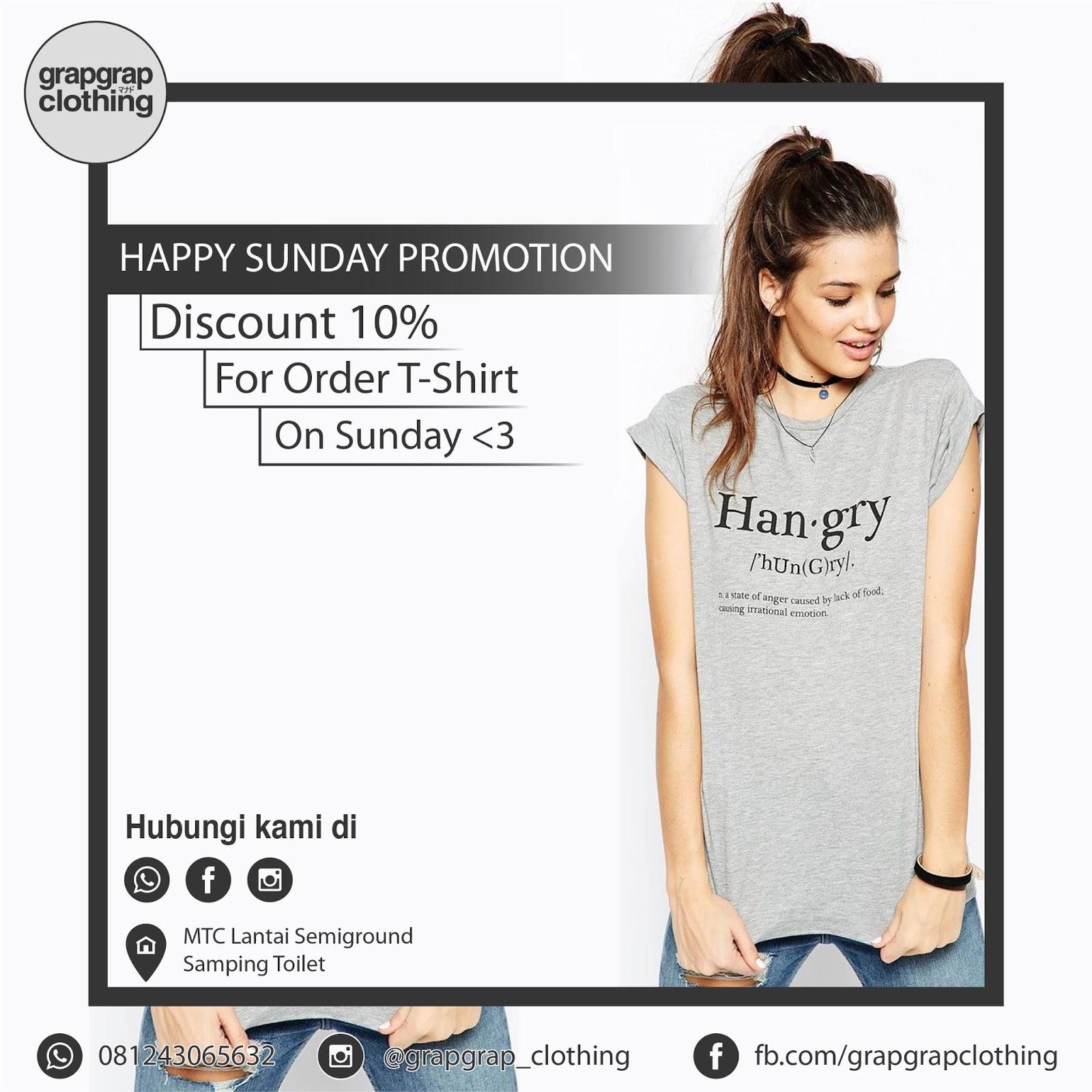 Beking Baju Manado Murah- Sunday Promotion