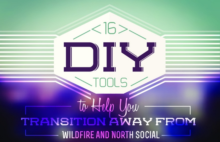 16 Top DIY Social media marketing Tools for busiensses 2014 - infographic