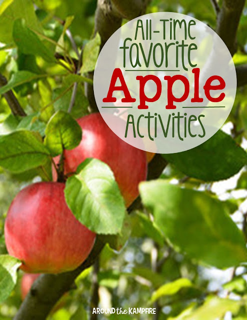 All-time favorite apple activities~A 6-part blog series of apple activities kids love!