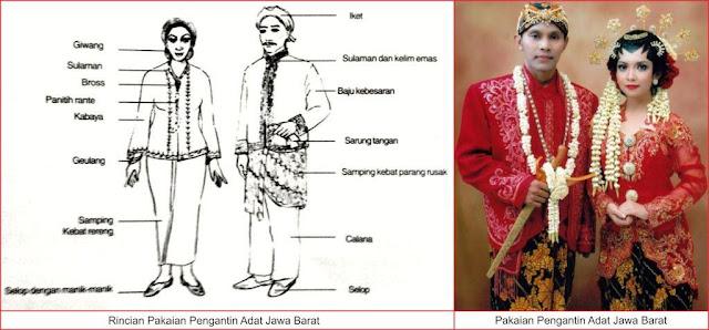 pakaian pengantin adat jawa barat