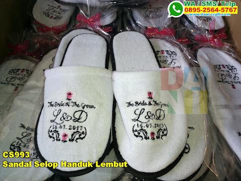 Grosir Sandal Selop Handuk Lembut