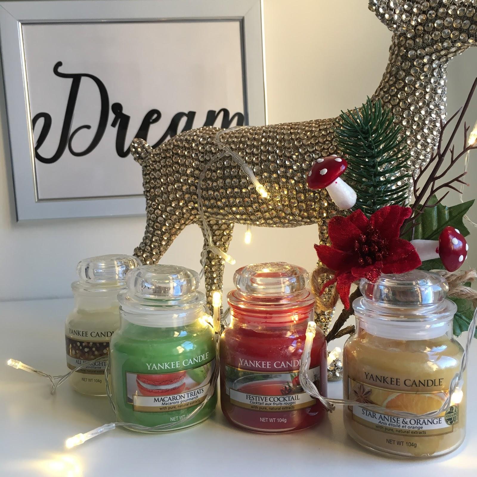 Yankee Candle Christmas Range