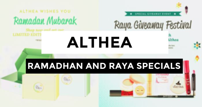 althea promo, althea korea website