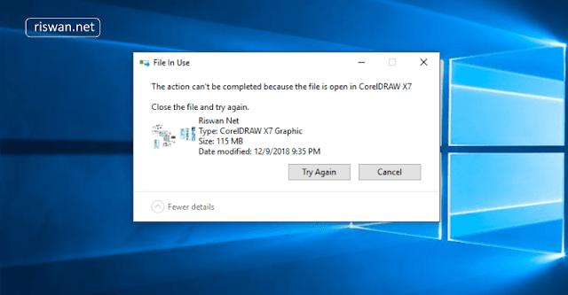 Cara Menghapus File Yang Tidak Bisa Dihapus di Komputer