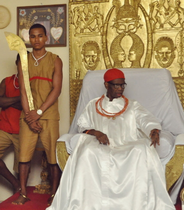 Oba of benin kingdom dead or alive