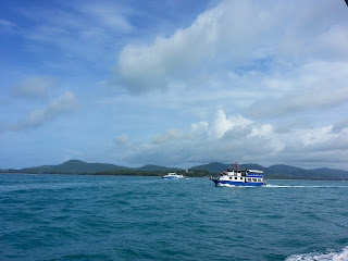 South part of Phuket Island - from the sea