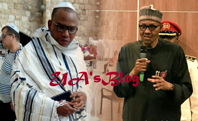 Why Buhari Can't Sign Any Bill Again — Nnamdi Kanu