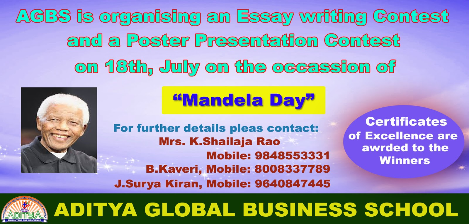 write an essay about nelson mandela International nelson mandela day essay, short speech, paragraph, date, ideas, song, south africa, democracy, 67 minutes all in one article.