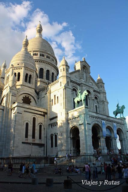 Basílica del Sacré Coeur, Paris