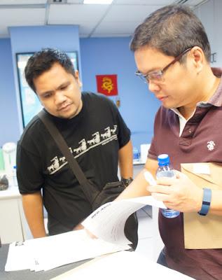 With Professor Mahar Lagmay - Schadow1 Expeditions
