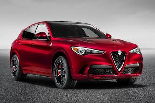 Alfa Romeo Stelvio Quadrifoglio (2018) Front Side