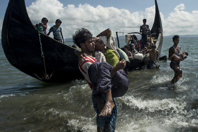 missing in Rohingya capsize