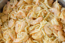 Delicious Shrimp Chicken Pasta
