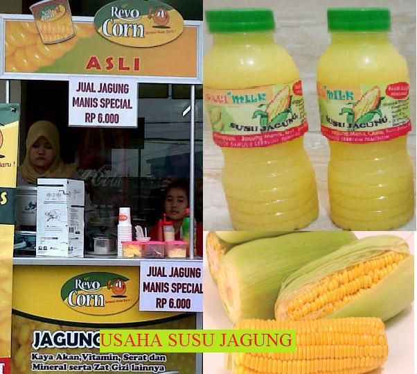 peluang bisnis susu jagung ide usaha Resepi Nasi Jagung Serai Enak dan Mudah
