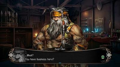 اختيارات في العبة Stranger of Sword City