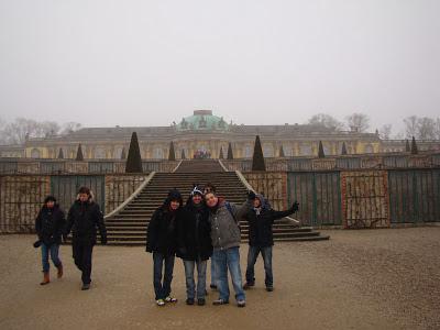 Palácio de Sanssouci em Postdam, próximo a Berlim, Alemanha