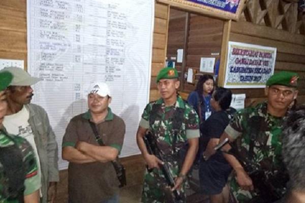 TNI Amankan Gawai Dayak Ke VIII 2017