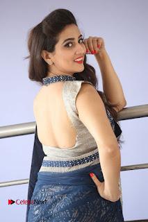 Actress Manjusha Pictures in Saree at Srirastu Subhamastu Song Launch  0144.JPG