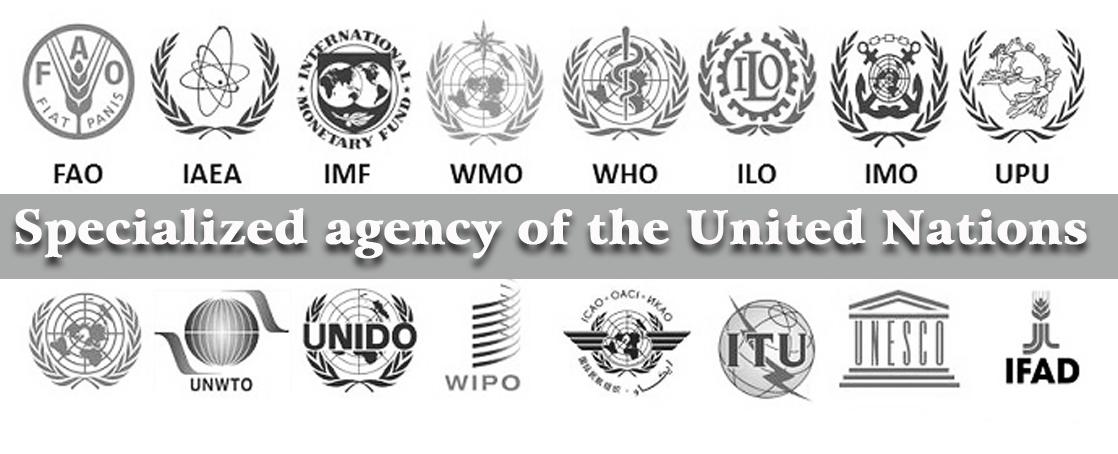 Gambar logo Badan-badan khusus PBB