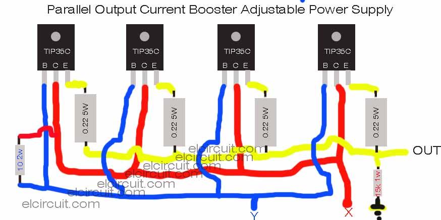 transistor wiring diagram
