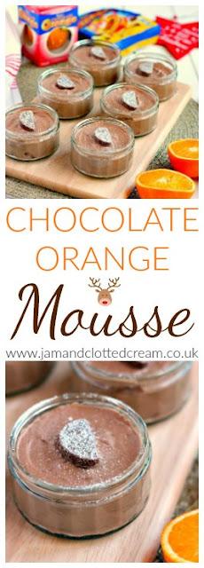 Easy No Egg Chocolate Orange Mousse
