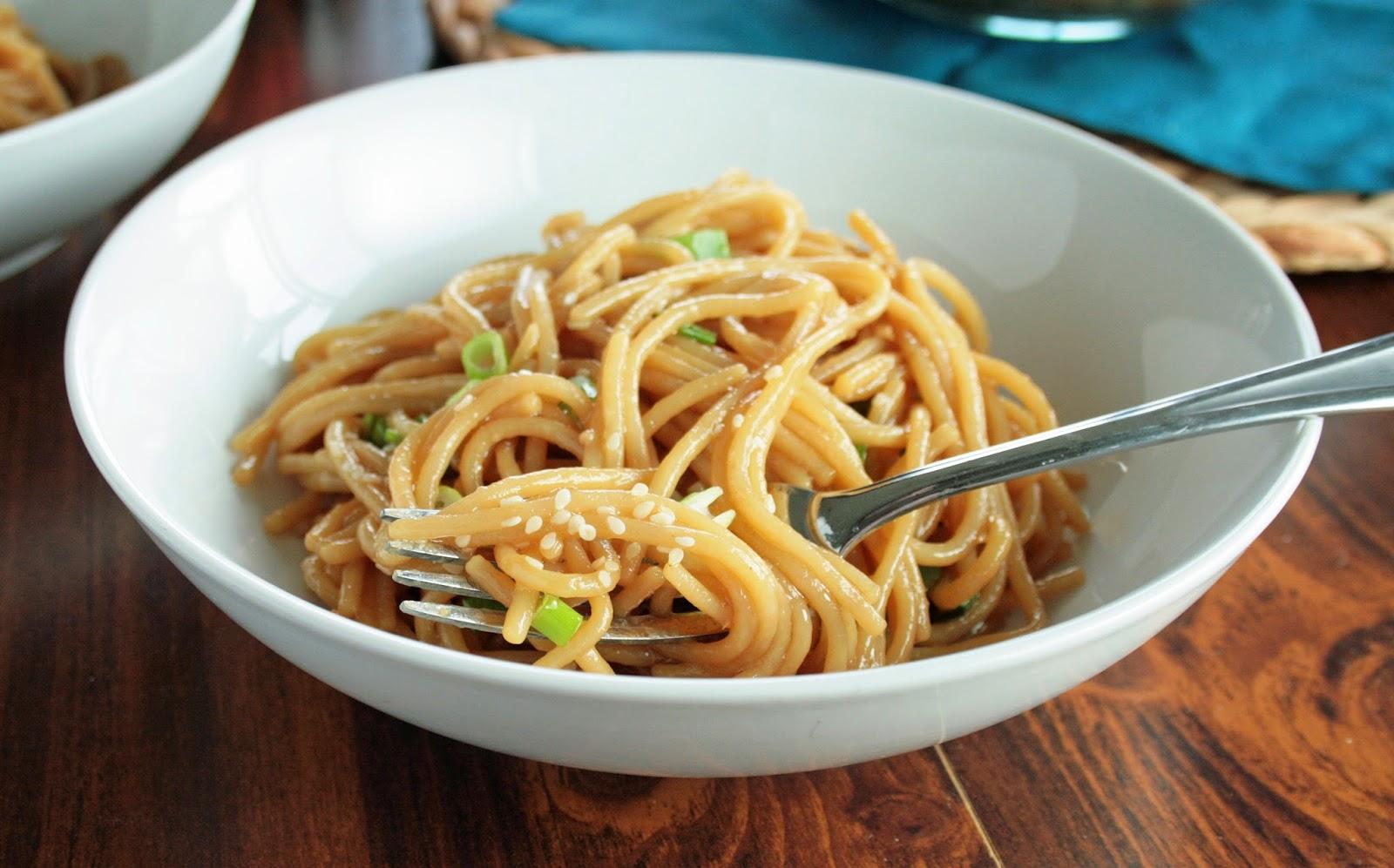 Lazy Gluten Free: Beyond Easy Sesame Noodles