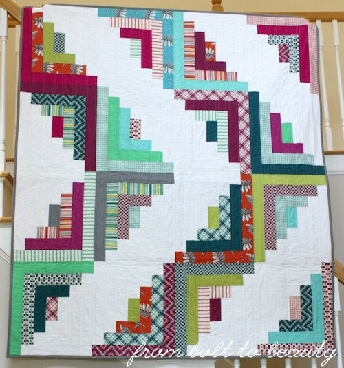 Still Pretty Simple Jelly Roll Quilt Free Tutorial
