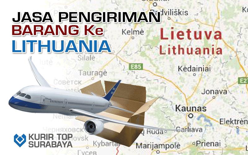JASA PENGIRIMAN LUAR NEGERI   KE LITHUANIA
