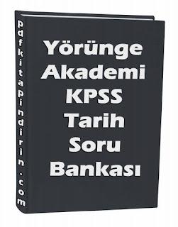 Yörünge Akademi KPSS Tarih Soru Bankası PDF İndir