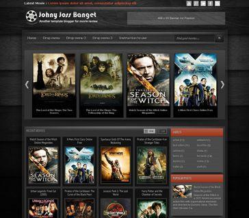 free download elegant blogger templates for movie review free