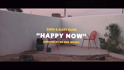 Zedd & Elley Duhé - Happy Now (#Lyric #Video)