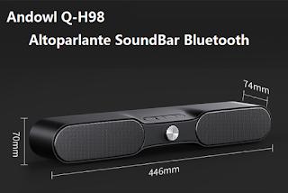 SOUNDBAR BARA ALTOPARLANTE BLUETOOTH 5.0 TWS