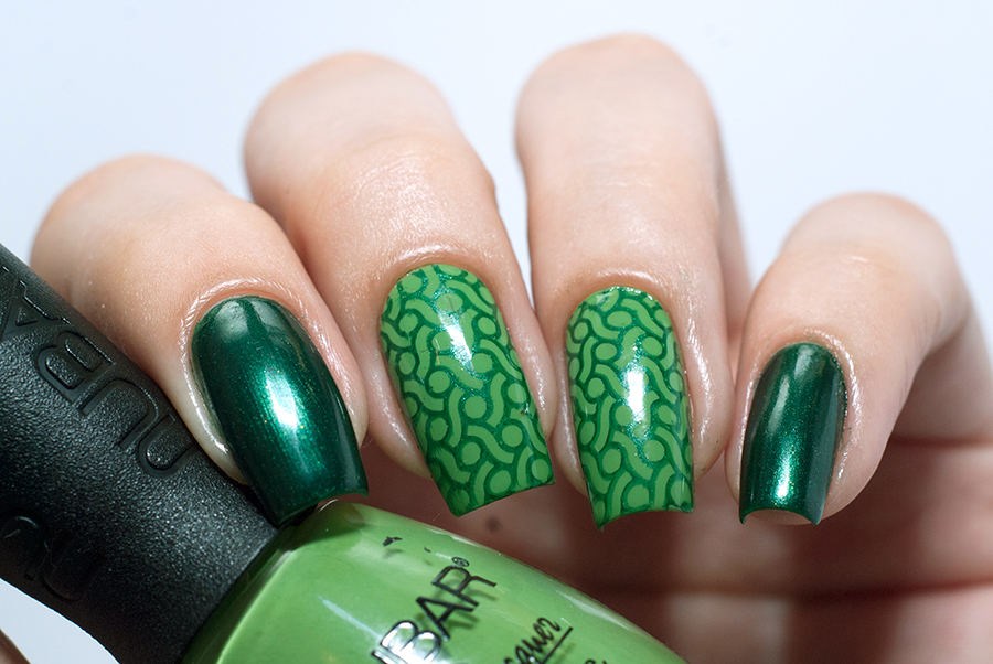 Nubar Green Tea + Flormar 435 + Moyou Pro Collection - 07