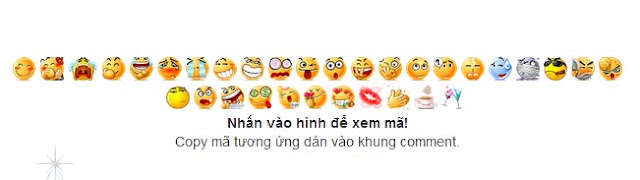 Chèn bộ mặt cười cho comment của blogspot