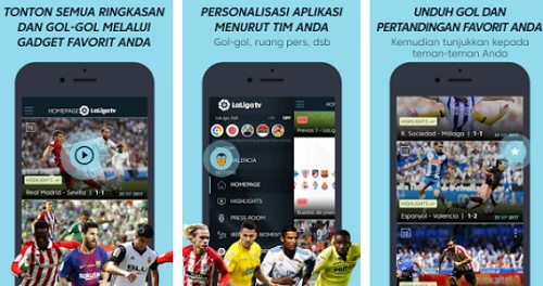 download aplikasi streaming bola Android hemat kuota