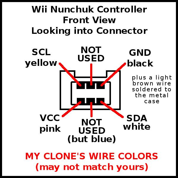 arduino wii nunchuck | samu wii nunchuk wire diagram 6 wire rtd wire diagram #8