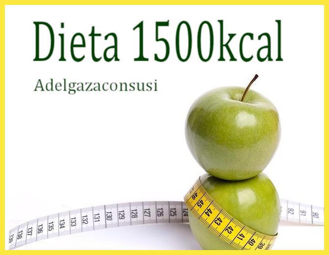 dieta 1500 calorias abierta menu semanal
