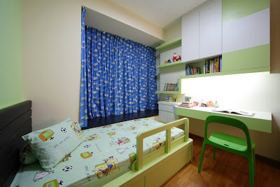 dekorasi kamar tidur anak diruang terbatas