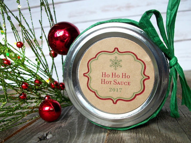 custom christmas snowflake canning jar labels