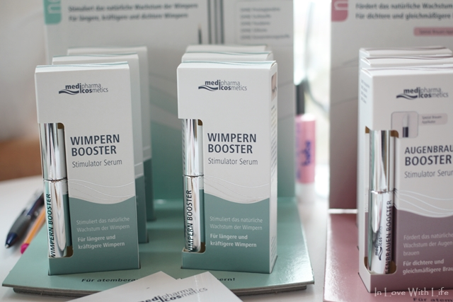 beautypress Blogger Event Oktober 2016 - medipharma Wimpernbooster