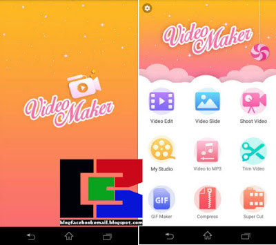 Aplikasi edit video terbaik android Video Maker