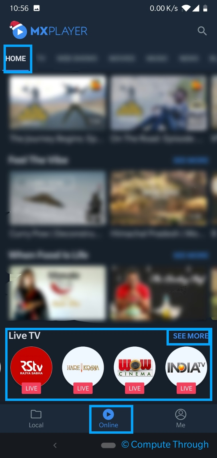 How To Watch Live Indian TV in MX Player