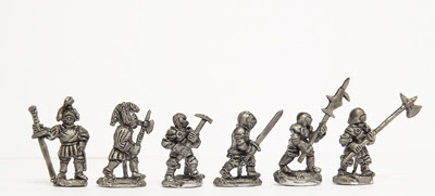 ER17 - Men-at-arms, on foot: