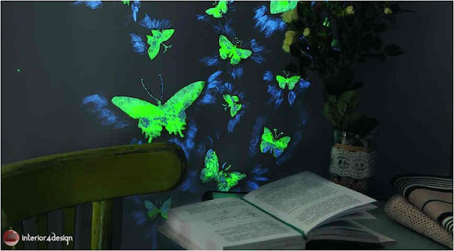 Magical Luminophore Paint DIY Home Decor Ideas