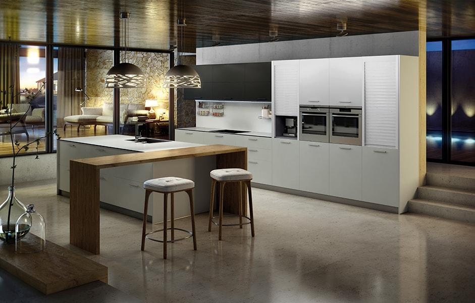 Acabados super mate una alternativa en laminados para for Acabados cocinas modernas